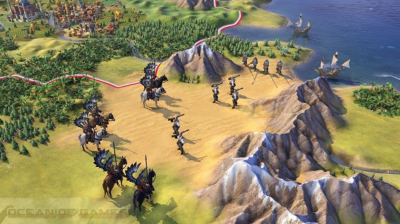 Sid Meiers Civilization VI Winter 2016 Edition Features