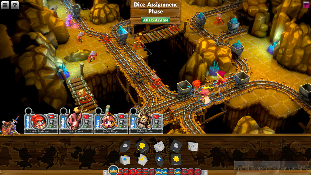 Super Dungeon Tactics Features
