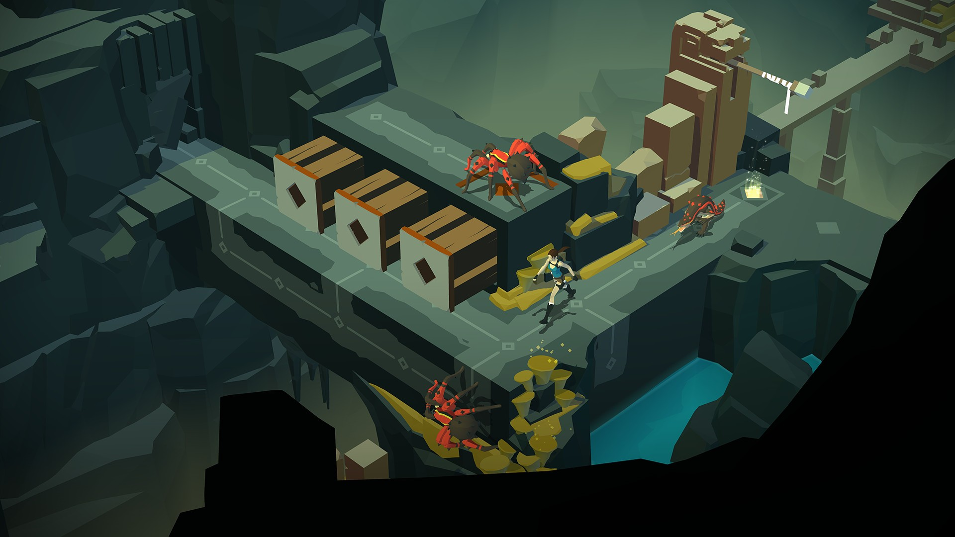 Lara Croft GO The Mirror of Spirits Features
