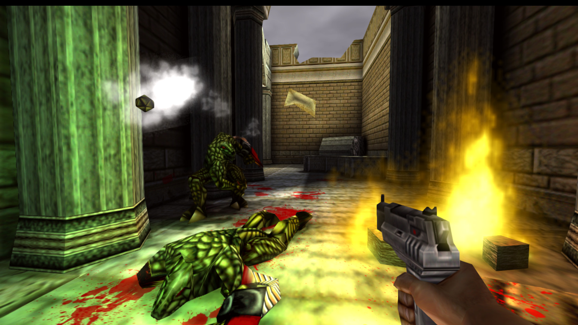 Turok 2 Seeds of Evil Remastered Features