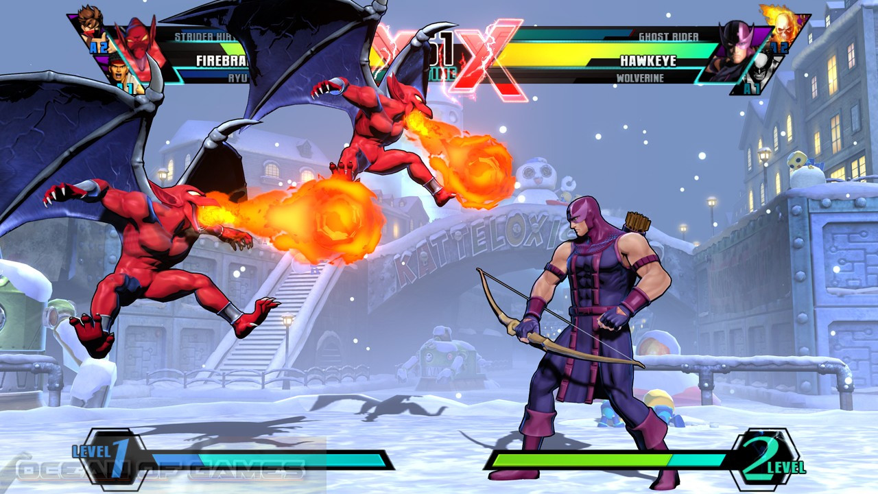 Ultimate Marvel vs Capcom 3 Features