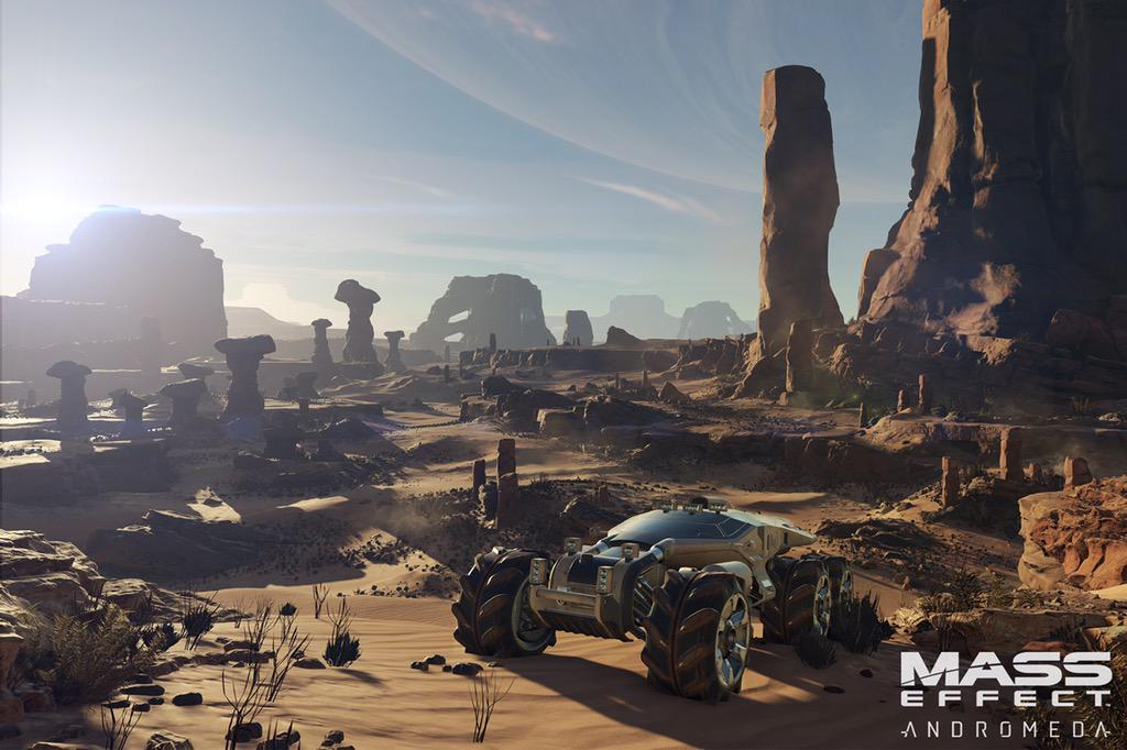 Mass Effect Andromeda Features