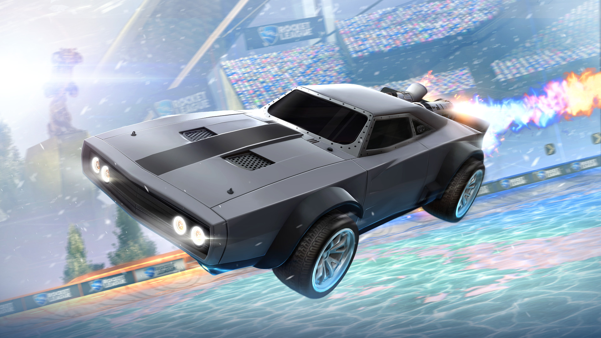 Rocket League The Fate of the Furious Features