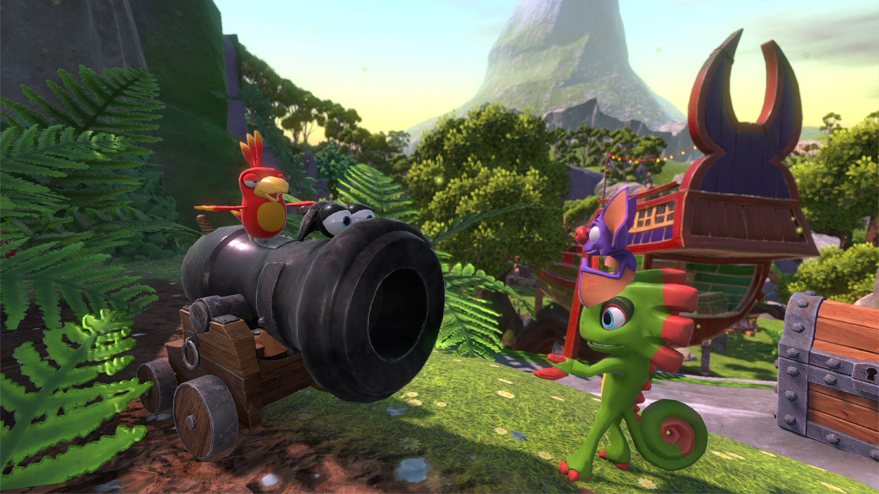 Yooka Laylee Features