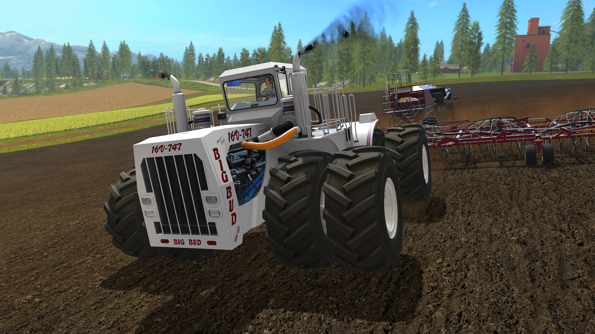 farming simulator 17 big bud free download. Black Bedroom Furniture Sets. Home Design Ideas