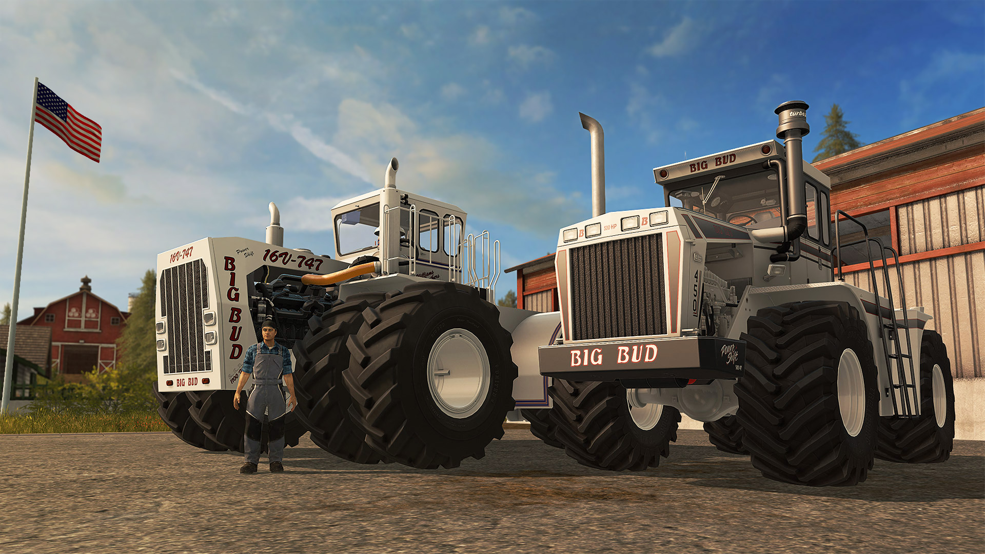 farming simulator 17 big bud free download ocean of games. Black Bedroom Furniture Sets. Home Design Ideas