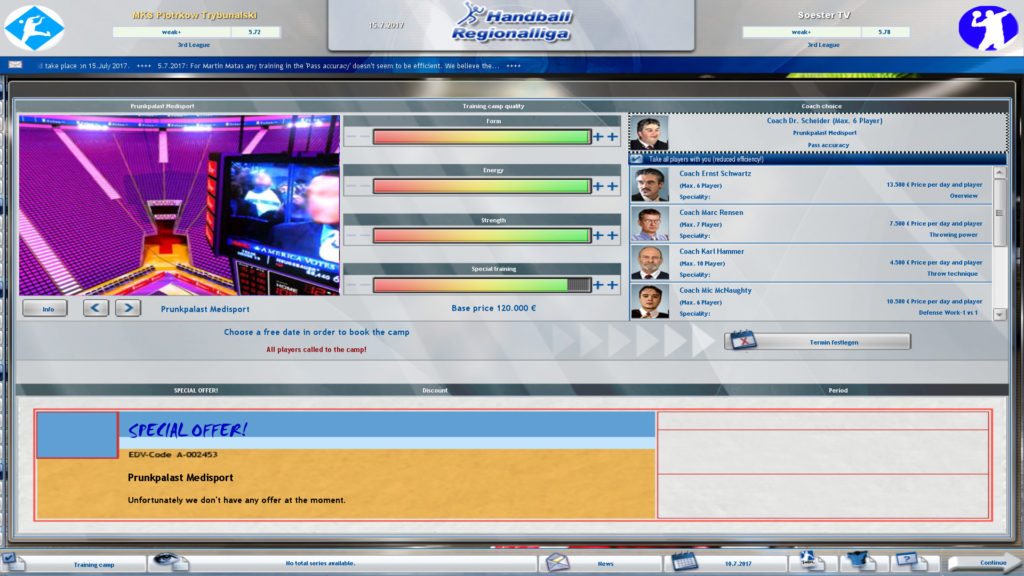 Handball Manager TEAM Free Download