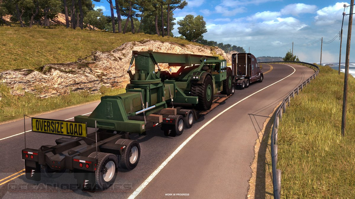 Euro Truck Simulator 2 Heavy Cargo Pack Setup Free Download