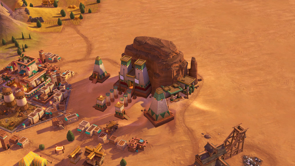 Sid Meiers Civilization VI Nubia Civilization and Scenario Game Free Download