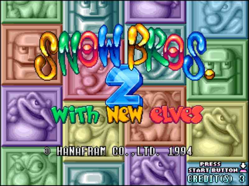 Snow Bros 2 Free Download