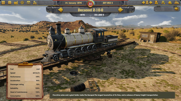 Railway Empire Free Download