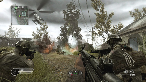 Call Of Duty 4 Modern Warfare PC Game Setup Free Download