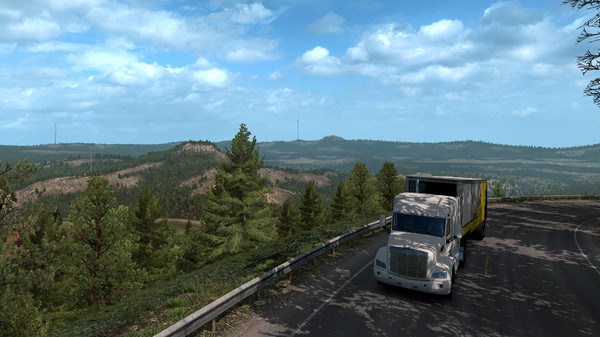 American Truck Simulator Oregon Free Download