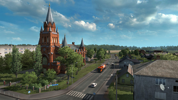 Euro Truck Simulator 2 Beyond the Baltic Sea Free Download