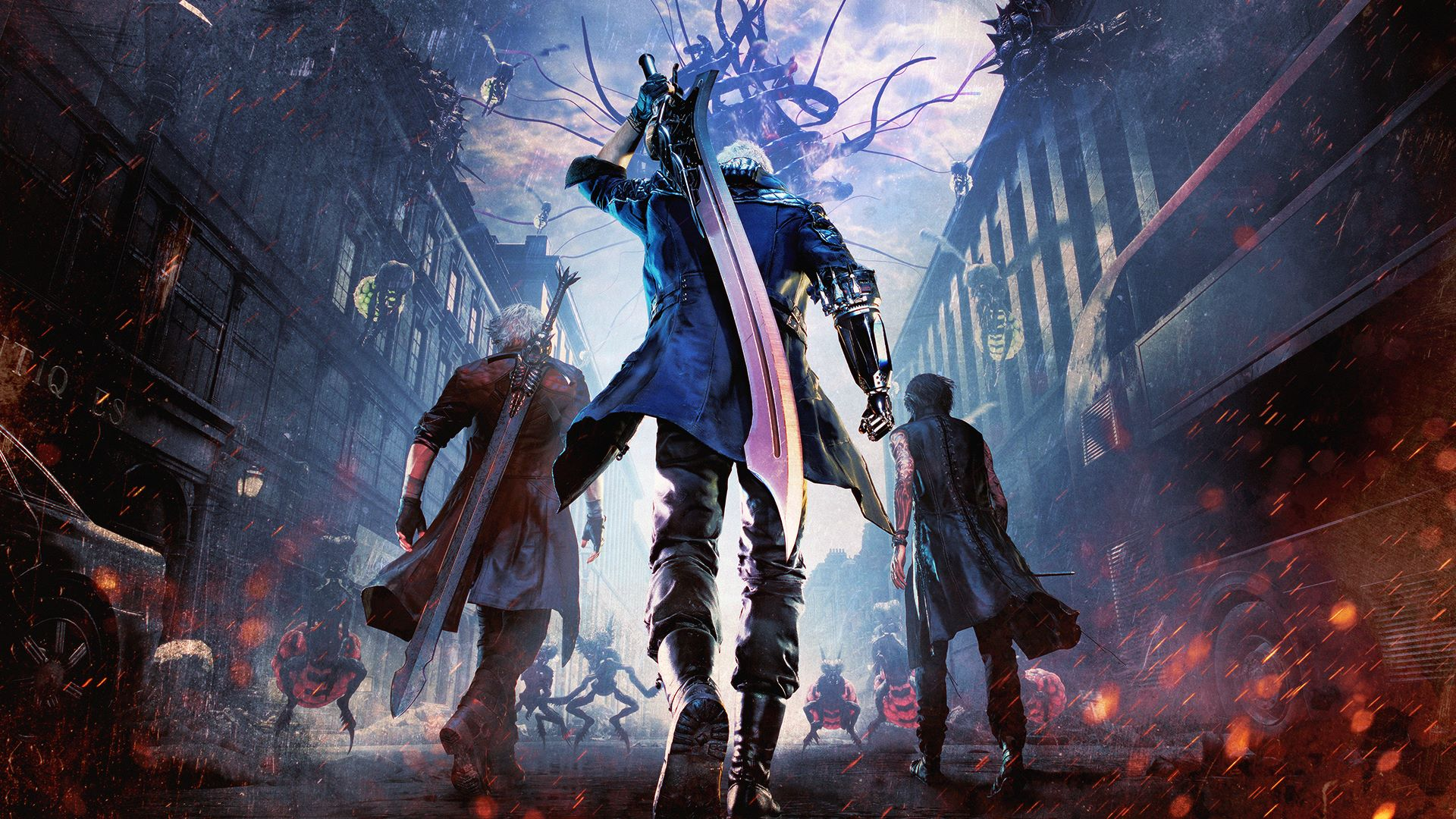 Devil May Cry 5 Deluxe Edition + 19 DLCs Repack Free